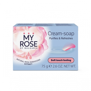 Крем-мыло Crеam-soap My Rose of Bulgaria